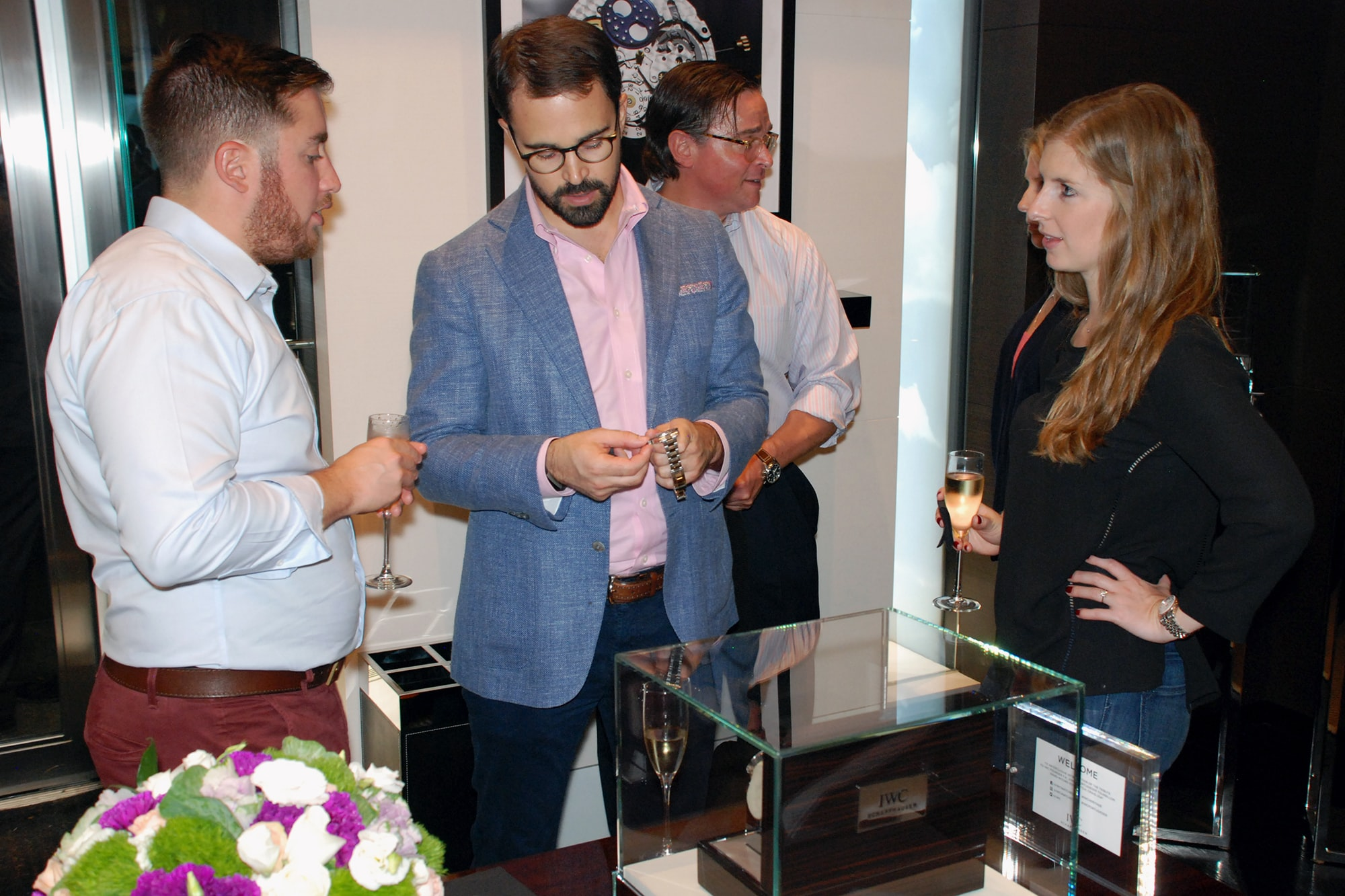 Photo Report: HODINKEE And IWC Celebrate The Portugieser Hand-Wound Tourbillion Edition 'D.H. Craig USA' In New York Photo Report: HODINKEE And IWC Celebrate The Portugieser Hand-Wound Tourbillion Edition 'D.H. Craig USA' In New York 0119 copy