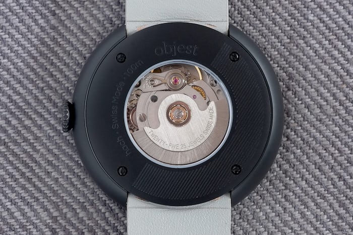 objest automatic eta 2824-2 movement