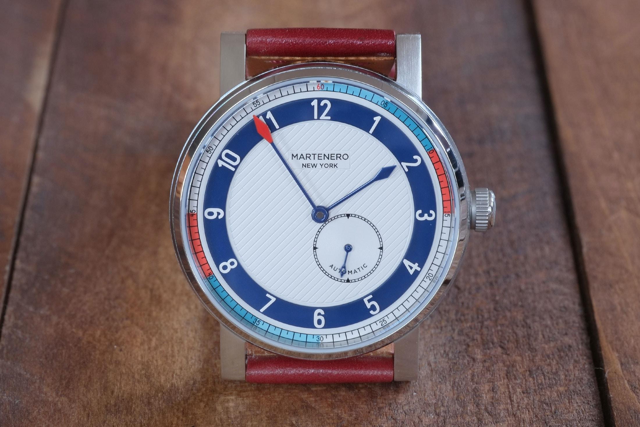 martenero edgemere colorful Hands-On: The Martenero Edgemere, A Marine Chronometer-Inspired Watch Designed In New York Hands-On: The Martenero Edgemere, A Marine Chronometer-Inspired Watch Designed In New York martenero 13