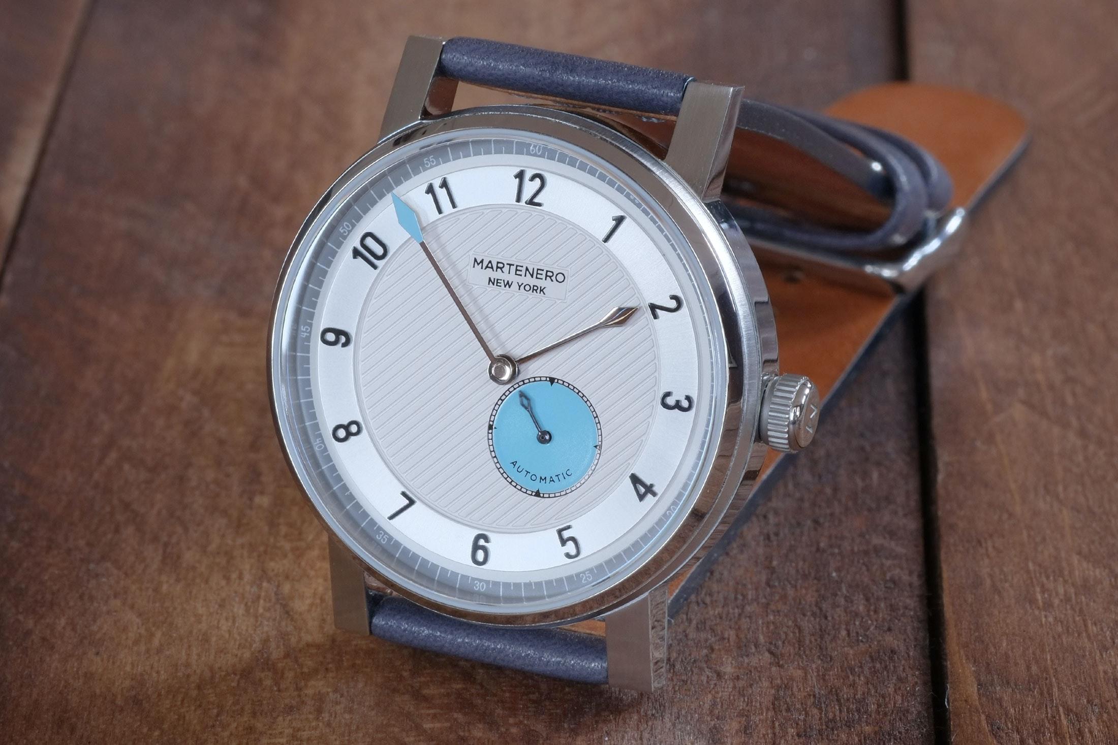 silver dial martenero edgemere Hands-On: The Martenero Edgemere, A Marine Chronometer-Inspired Watch Designed In New York Hands-On: The Martenero Edgemere, A Marine Chronometer-Inspired Watch Designed In New York martenero 10