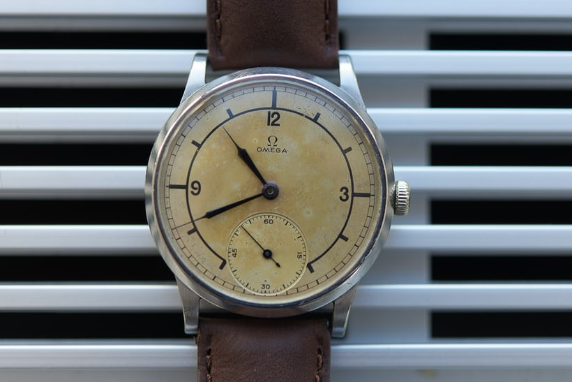 omega sector dial phillips 44mm