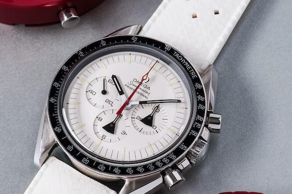 zinc dial omega alaska project speedmaster