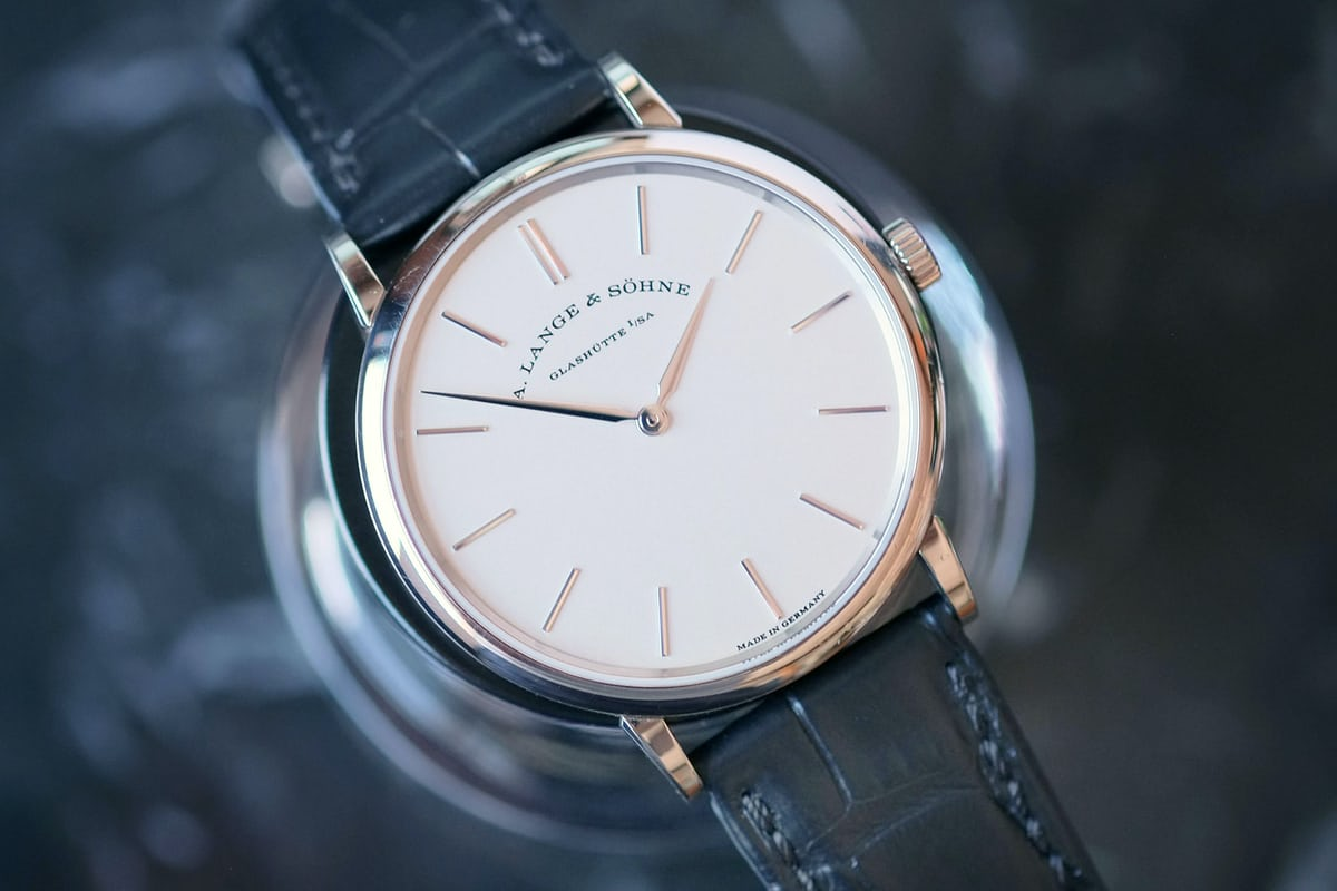 saxonia thin white gold lange sohne