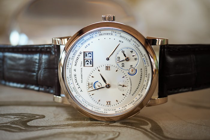 A. Lange & Söhne Time Zone Honey Gold