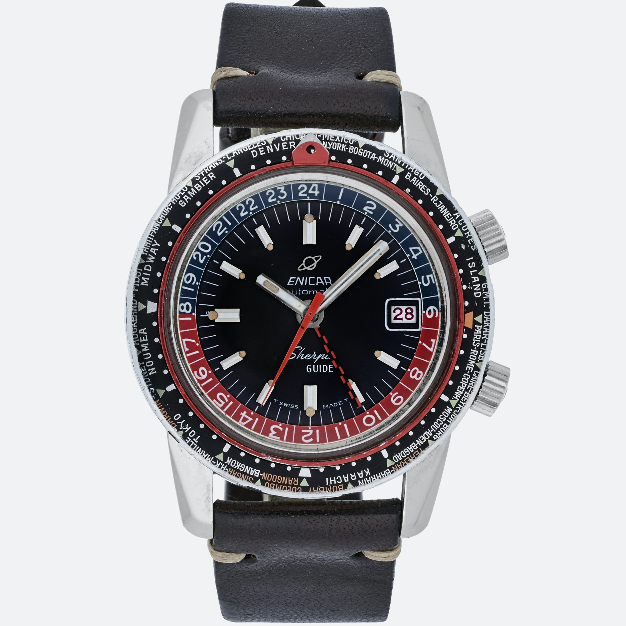 In The Shop: A 1940s Breitling Chronomat Reference 769, A 1960s Cornavin Diver, And A 1972 Rolex Daytona Reference 6263 In The Shop: A 1940s Breitling Chronomat Reference 769, A 1960s Cornavin Diver, And A 1972 Rolex Daytona Reference 6263 492 EnicarSherpaGuide A