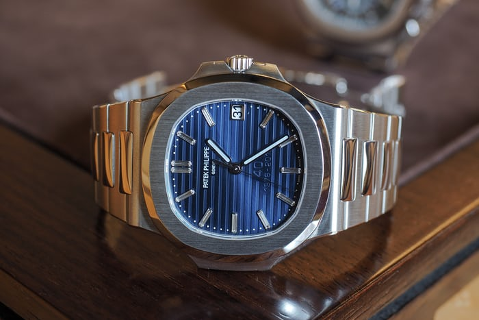Hands On The Patek Philippe 5976 1g And The 5711 1p 40th