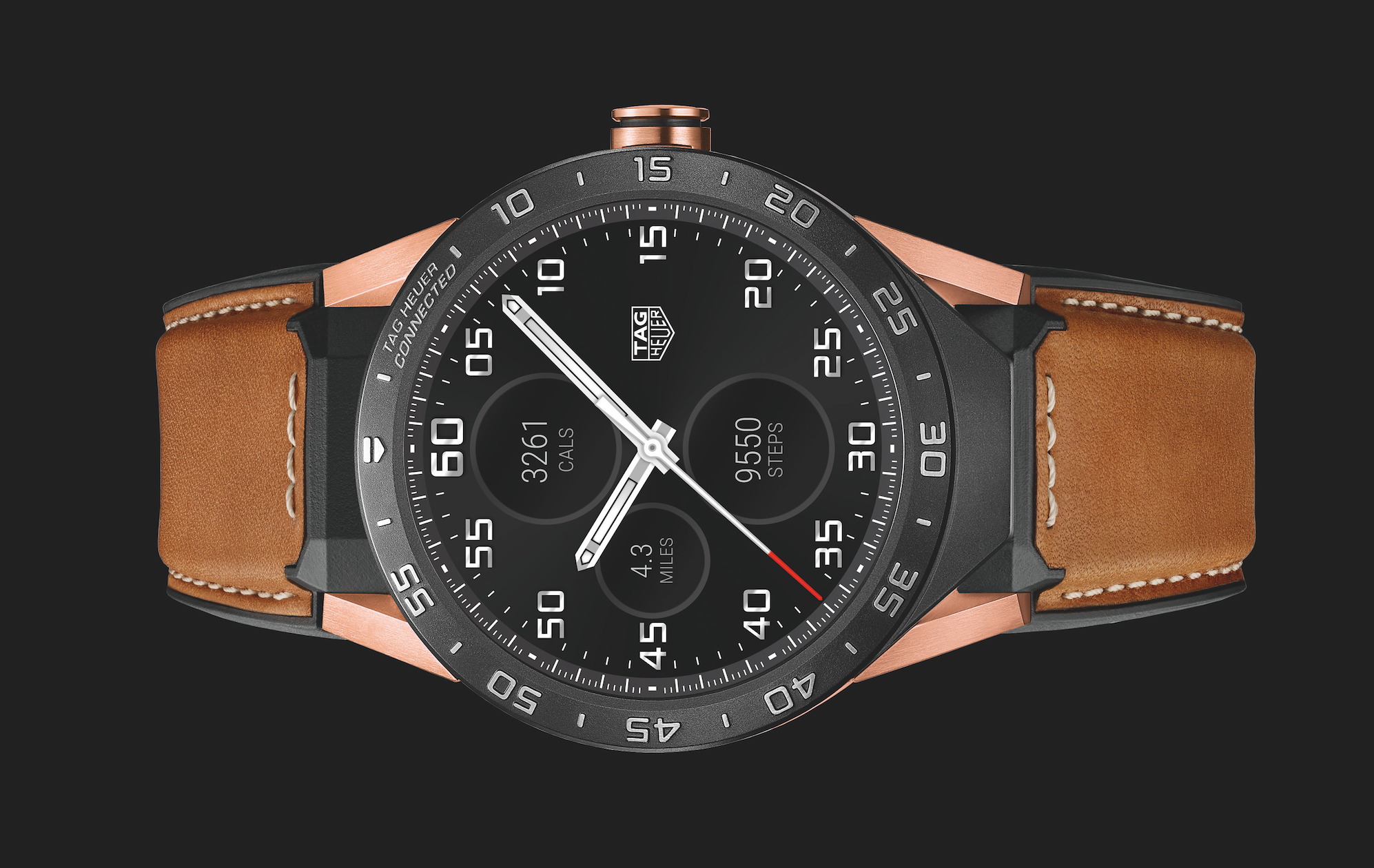 Introducing: The TAG Heuer Connected Watch Now In Solid Rose Gold (For $9,900) Introducing: The TAG Heuer Connected Watch Now In Solid Rose Gold (For $9,900) Screen Shot 2016 10 29 at 9