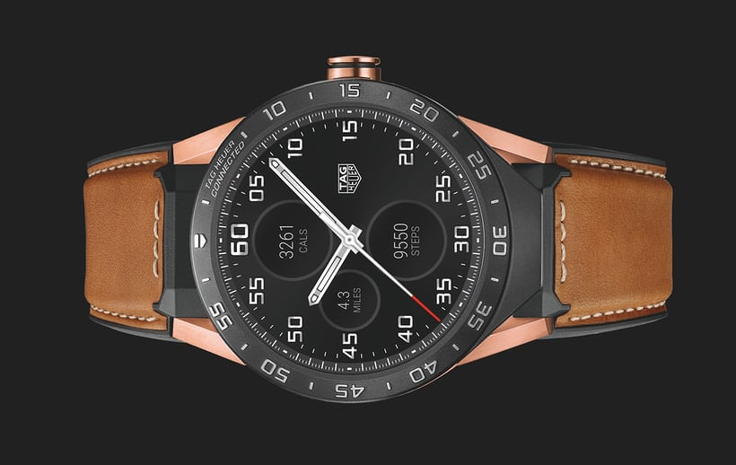 68792360188 Apresentando  The TAG Heuer Connected Watch Now In Solid Rose Gold (Para   9