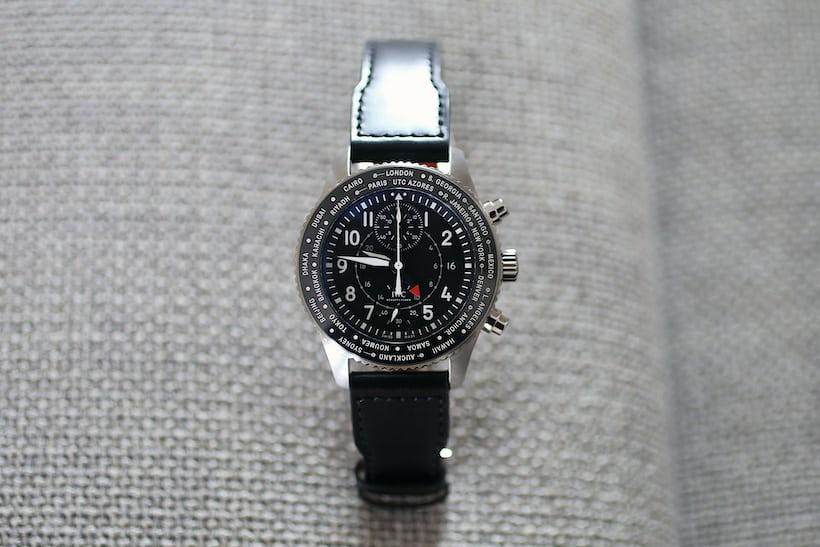 IWC Pilot's Timezoner Chronograph 3950
