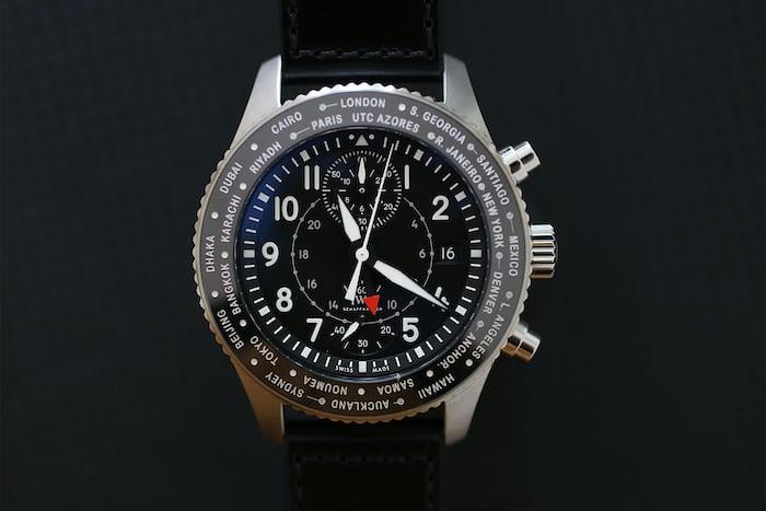 IWC Pilot's Watch Timezoner Chronograph.