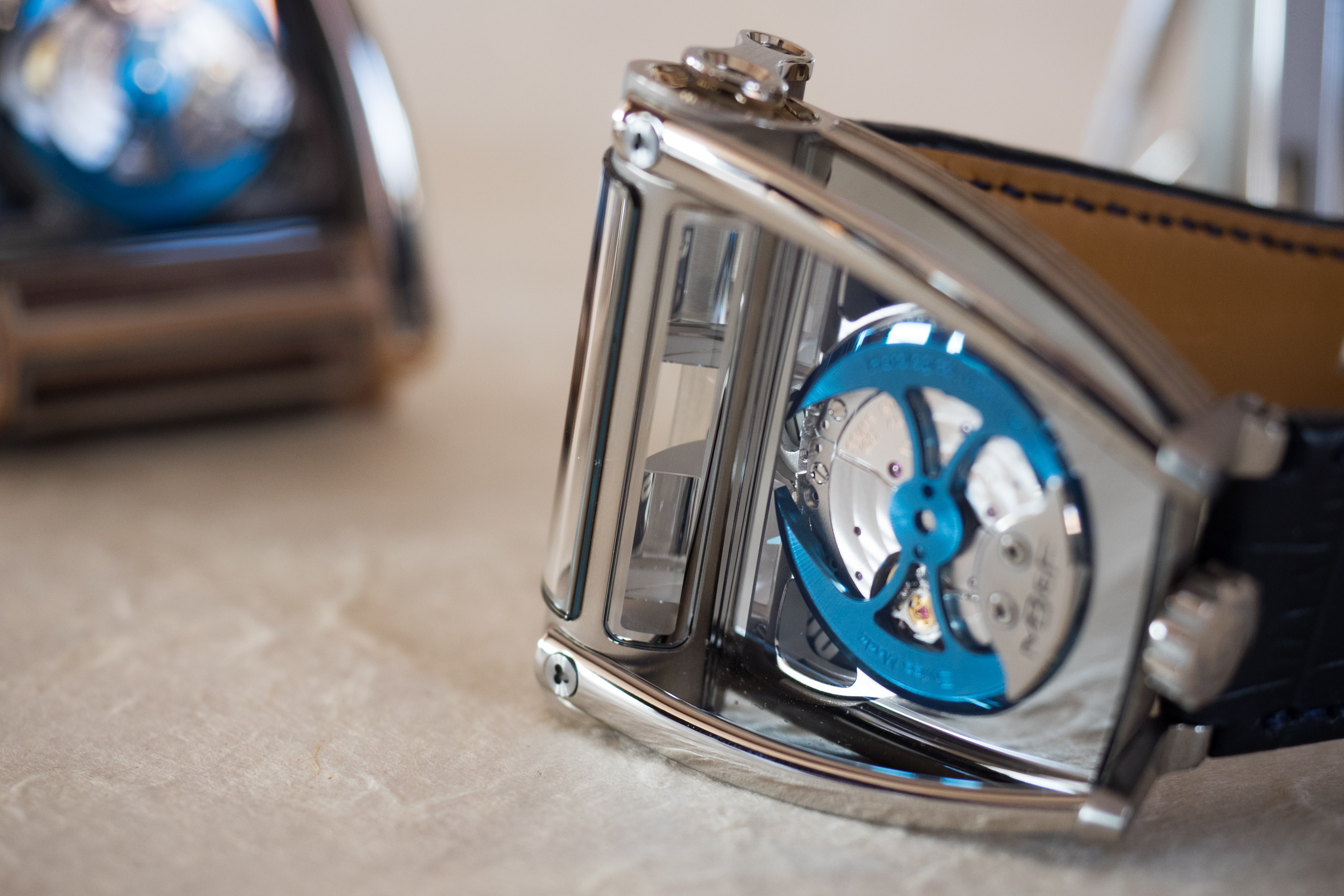 HM8 winding rotor Hands-On: The MB&F Horological Machine No. 8 'Can-Am' Hands-On: The MB&F Horological Machine No. 8 'Can-Am' PA131690