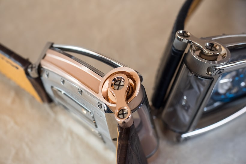 hm8 rose gold strap