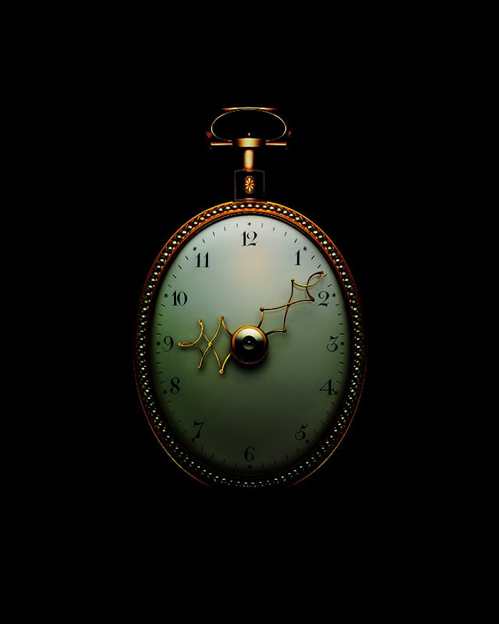 Parmigiani Fleurier Ovale Vardon and Stedman pocket watch