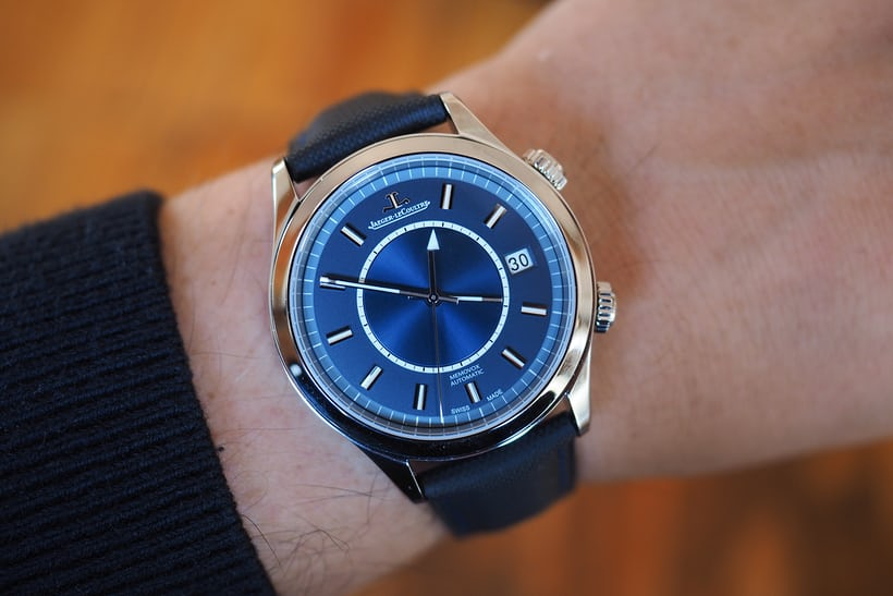 Jaeger-LeCoultre Master Memovox Boutique Edition wrist shot