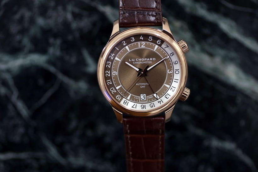 Chopard L.U.C GMT One Rose Gold Version