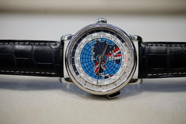 The Montblanc Orbis Terrarum Special Edition Great Britain.