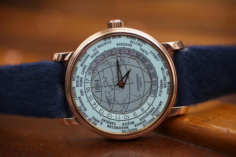 """2004: 4th Edition World Time """"1884"""" in honor of  Sir Sandford Fleminged, the Canadian engineer who popularized the adoption of worldwide standard time zones."""