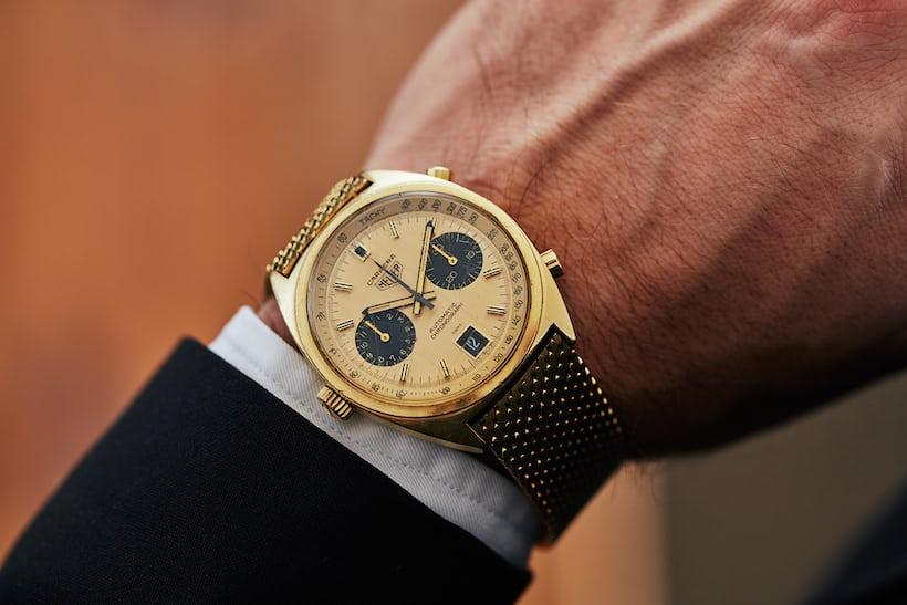 Heuer 1158 wristshot