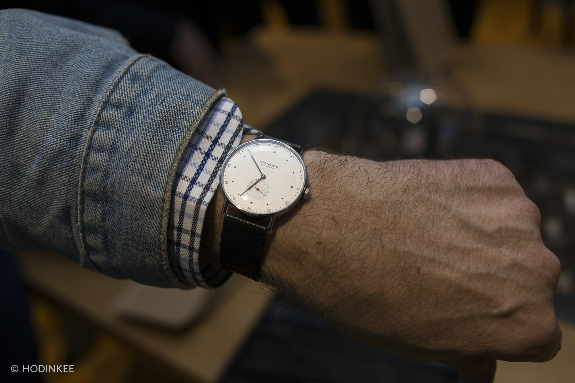 Photo Report: The NOMOS Glashütte Metro Chronometer For HODINKEE Launch Party Photo Report: The NOMOS Glashütte Metro Chronometer For HODINKEE Launch Party 20014889 copy