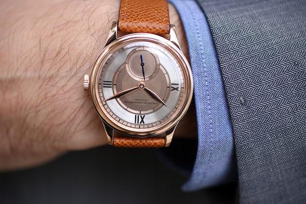 Atelier de Chronométrie metallic dial