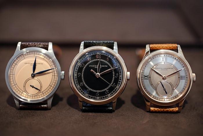 Atelier de Chronométrie watches