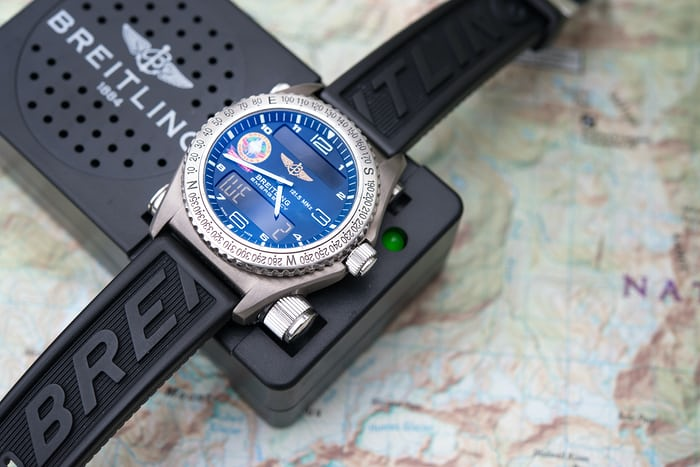 breitling emergency test radio