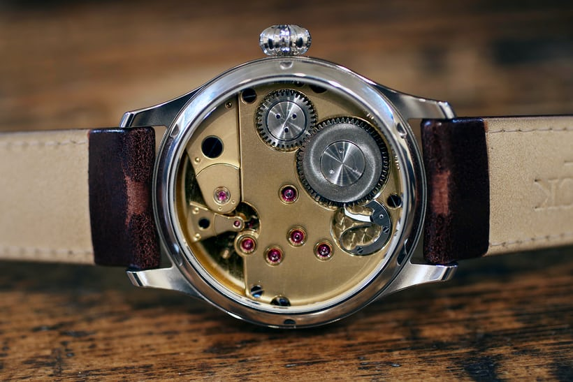 Calibre UT-G01 is Garrick's first movement.