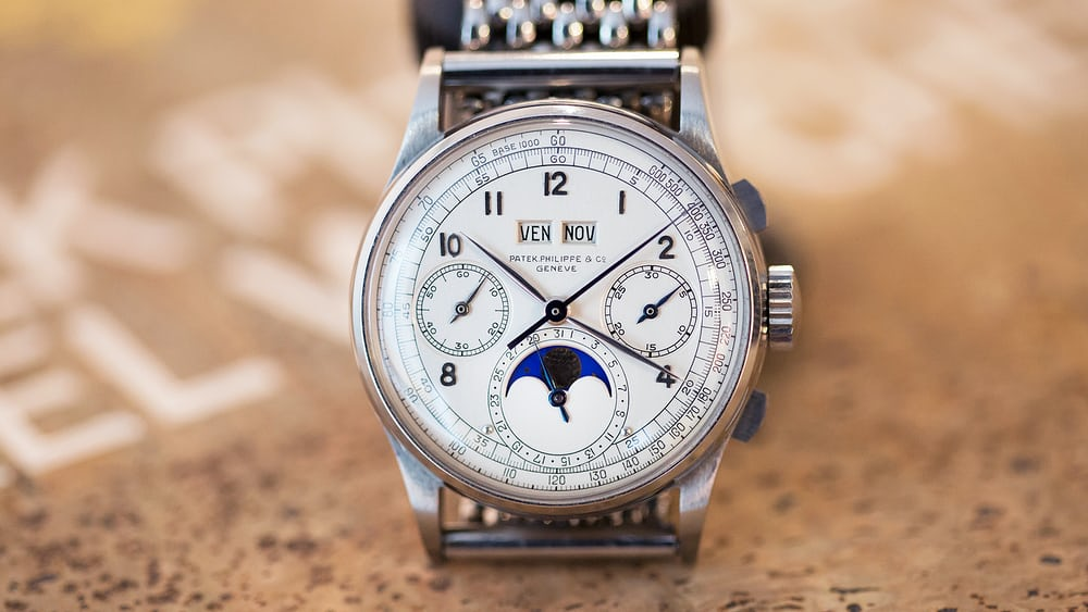 In-Depth: The Patek Philippe 1518 In Steel (Video, Live Photos, History, & Thoughts) - HODINKEE