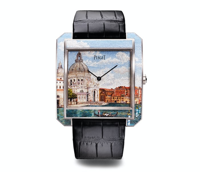Piaget, Protocole XXL 'Secrets & Lights' Venice Micro-Mosaic