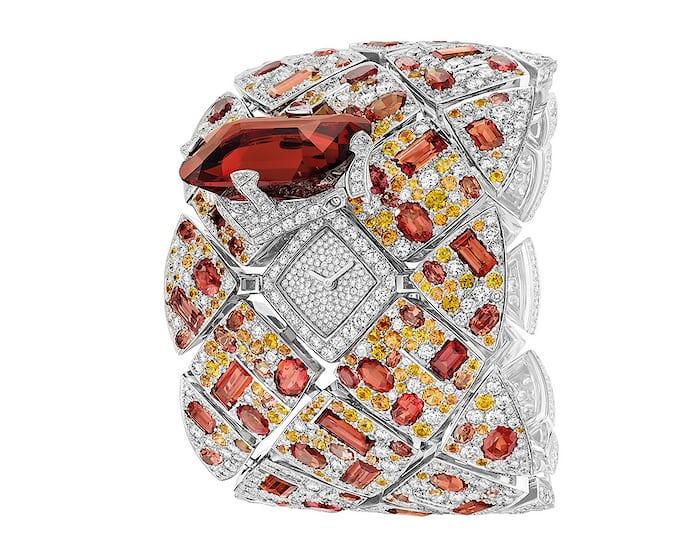 Chanel, Secret Watch 'Signature Grenat'