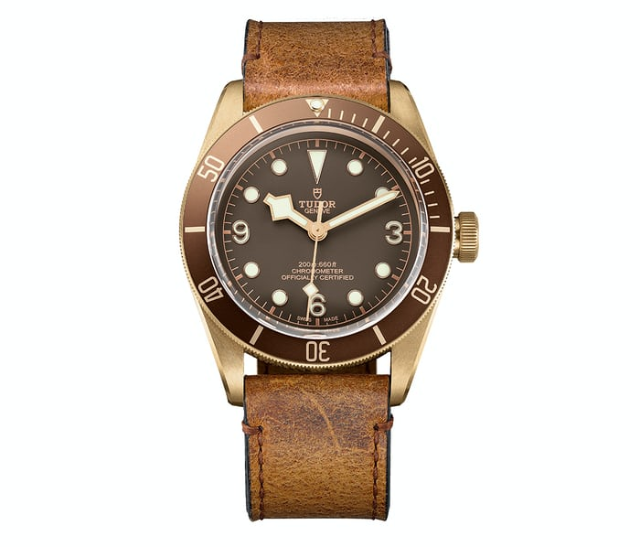 Tudor, Heritage Black Bay Bronze