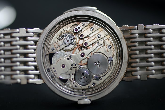 audemars piguet minute repeater platinum bracelet movement