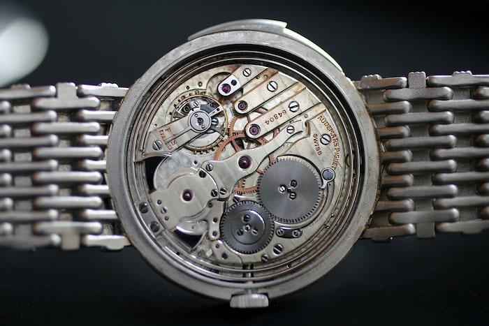 audemars piguet minute repeater platinum bracelet movement