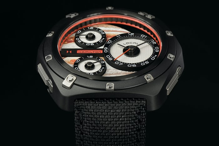 Hamilton ODC X-03 jupiter dial