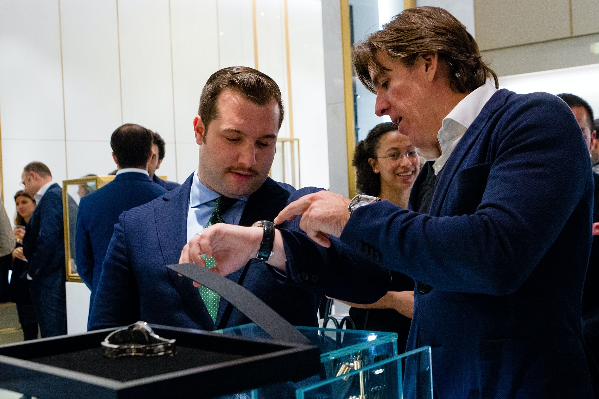 Photo Report: HODINKEE Celebrates London Jewelers' New Store In New York City's Oculus Photo Report: HODINKEE Celebrates London Jewelers' New Store In New York City's Oculus 20161109 LondonJewelersxHodinkee 081