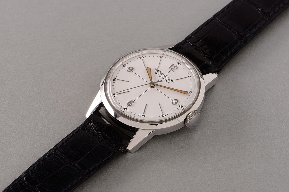 Jaeger-LeCoultre ref. E168 Chronomètre Geophysic. Record-Breaking Patek Philippe 1518 Steals The Show, But Results Show A Mixed Bag At Phillips' Geneva Watch Auction: Four Record-Breaking Patek Philippe 1518 Steals The Show, But Results Show A Mixed Bag At Phillips' Geneva Watch Auction: Four JLC Geophysic 1000