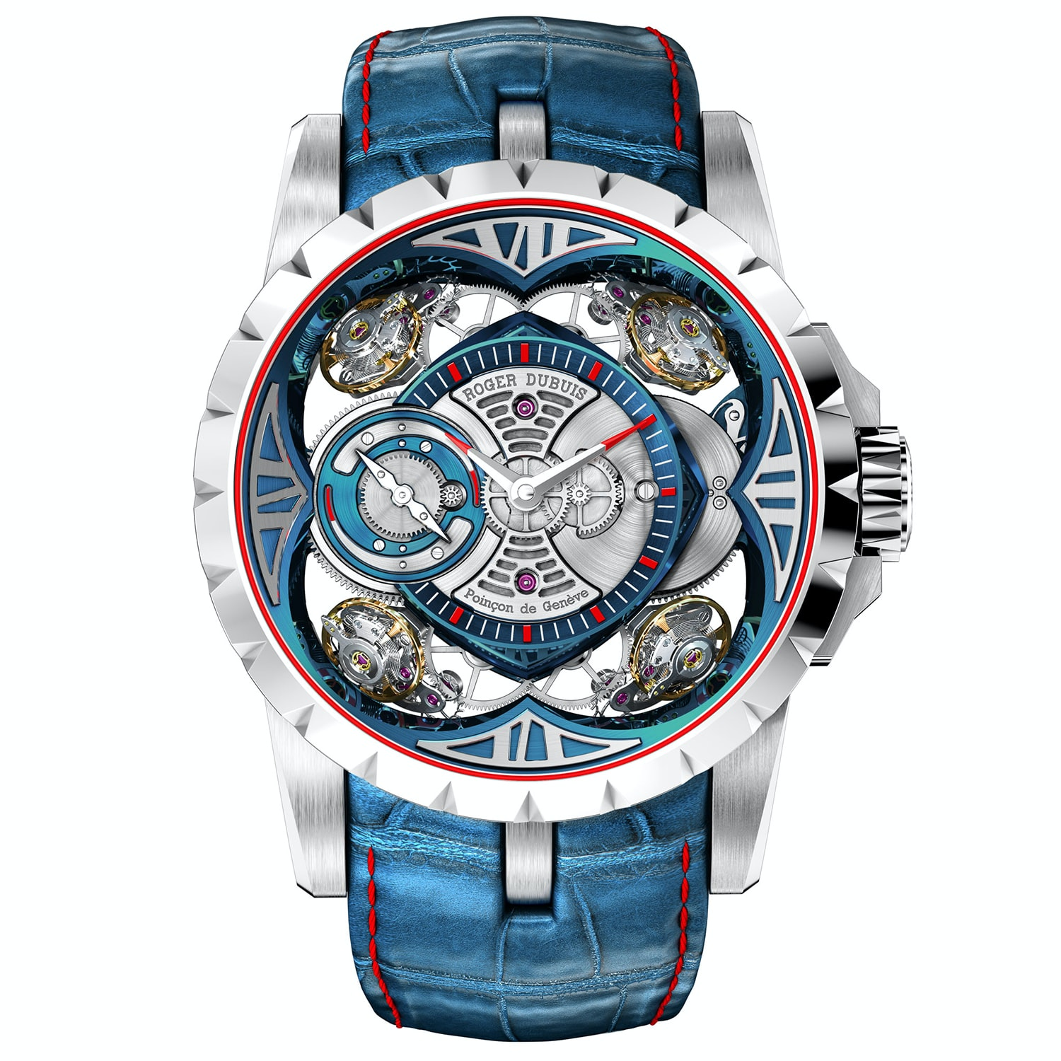 Excalibur Quatuor Cobalt MicroMelt Introducing: The Roger Dubuis Excalibur Quatuor Cobalt MicroMelt (And Two Other New Excalibur Watches) Introducing: The Roger Dubuis Excalibur Quatuor Cobalt MicroMelt (And Two Other New Excalibur Watches) 1b
