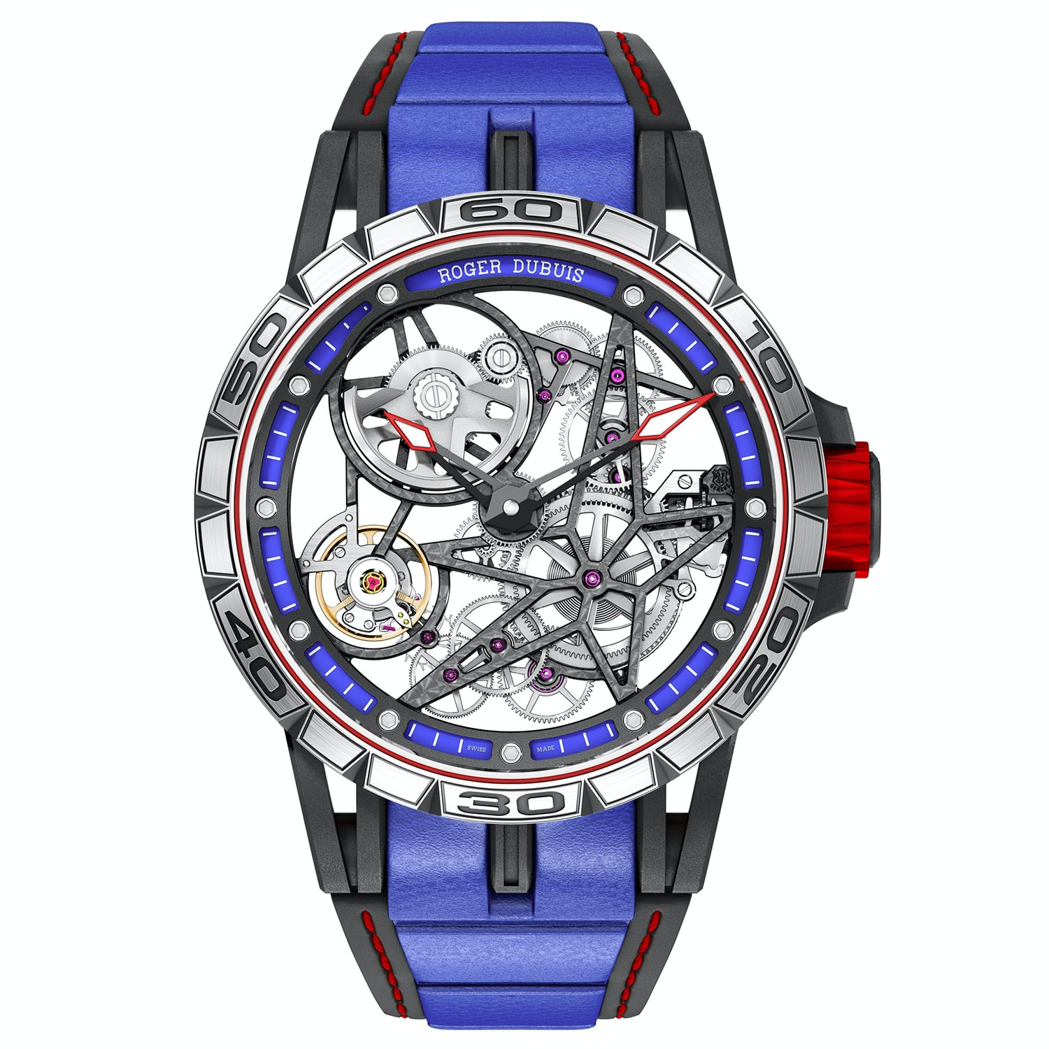 The Roger Dubuis Excalibur Spider Skeleton Automatic. Introducing: The Roger Dubuis Excalibur Quatuor Cobalt MicroMelt (And Two Other New Excalibur Watches) Introducing: The Roger Dubuis Excalibur Quatuor Cobalt MicroMelt (And Two Other New Excalibur Watches) 2b