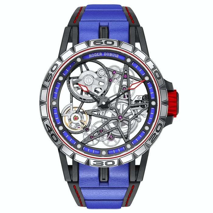 The Roger Dubuis Excalibur Spider Skeleton Automatic.