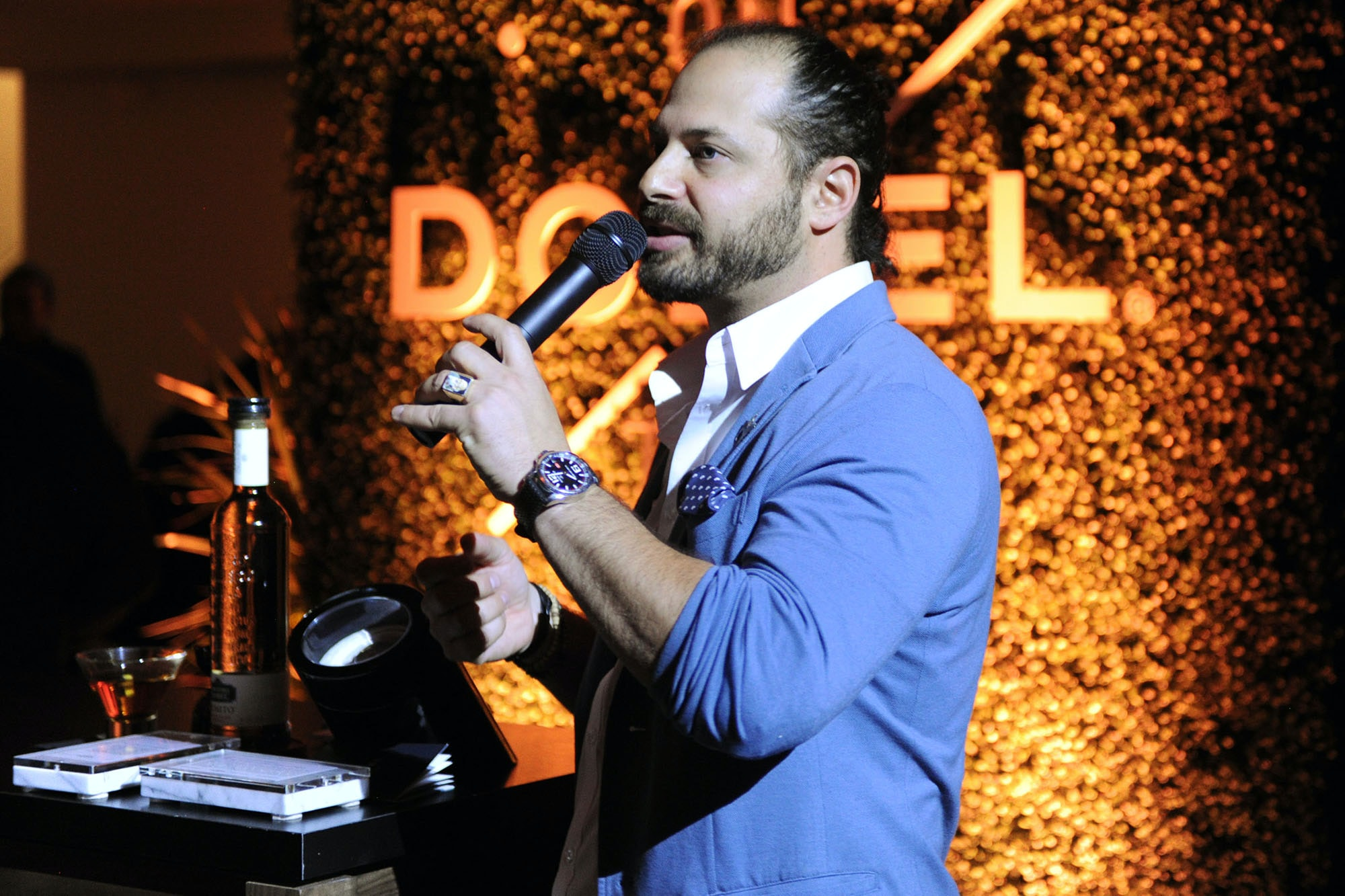 Photo Report: The Dobel x HODINKEE Events In New York And Miami – And An Invitation To Celebrate With Us In LA, Wednesday Night! Photo Report: The Dobel x HODINKEE Events In New York And Miami – And An Invitation To Celebrate With Us In LA, Wednesday Night! Cody Goldstein speaking7