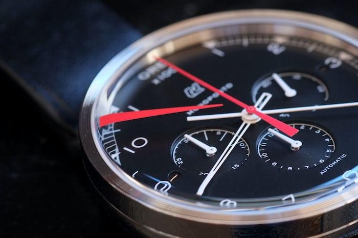 autodromo monoposto chronograph red line crystal
