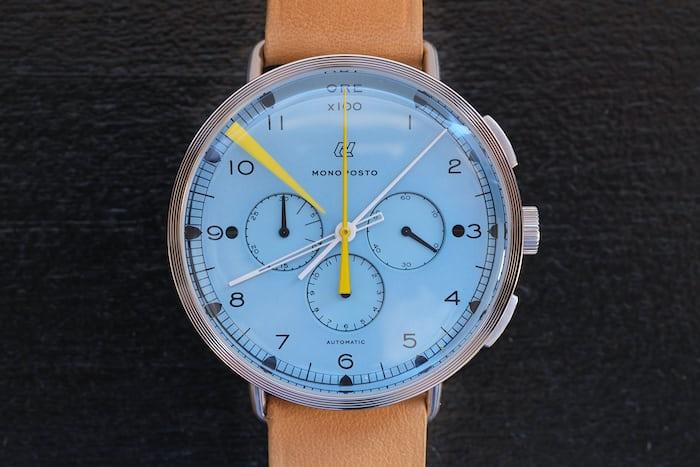 autodromo monoposto chronograph azzuro