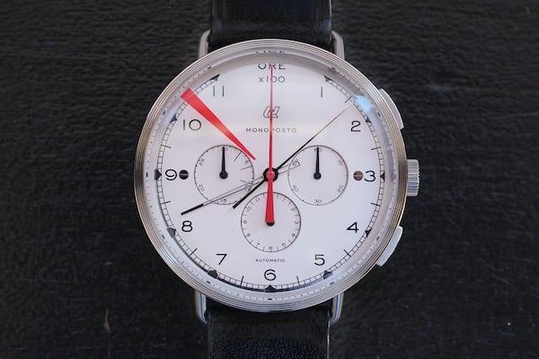 autodromo monoposto chronograph silver