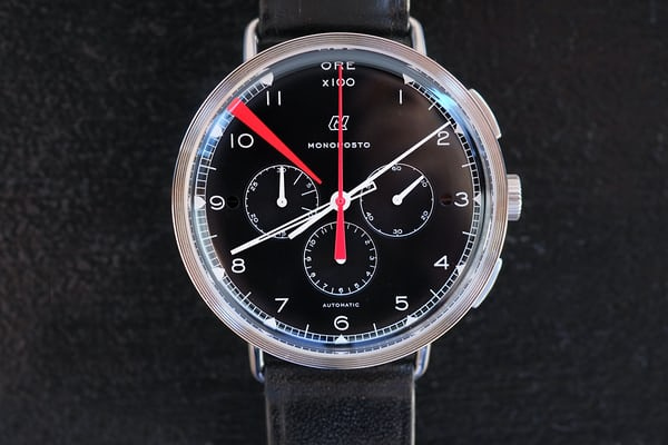 autodromo monoposto chronograph black