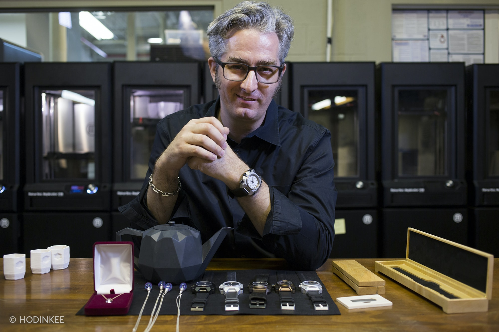 MakerBot Founder Bre Pettis Launches A Watch Company Based ...