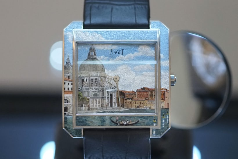Artistic Crafts – Piaget, Protocole XXL 'Secrets & Lights' Venice Micro-Mosaic