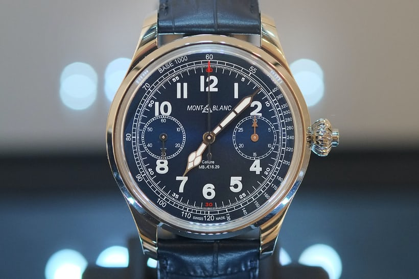 Chronograph – Montblanc, 1858 Chronograph Tachymeter Limited Edition