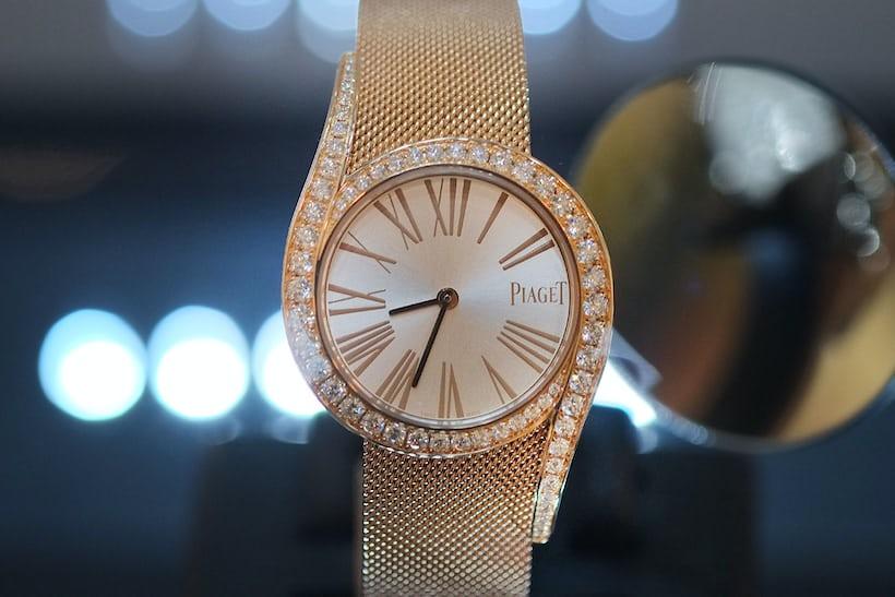Ladies' – Piaget, Limelight Gala Milanese Bracelet