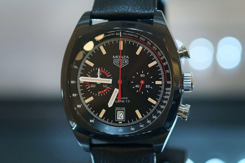 Revival - TAG Heuer, Heuer Monza Chronograph