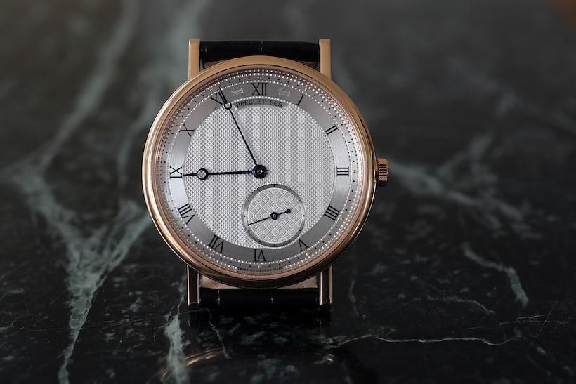 Breguet Classique ref. 7147 guilloché dial